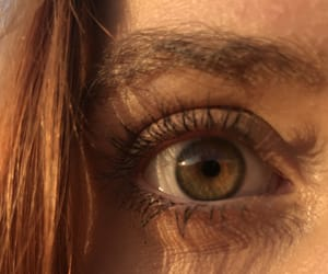 aesthetic, brown, and eyes image