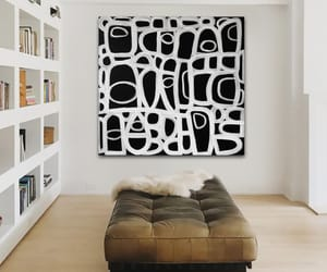 Abstract Painting, boho, and modern art image