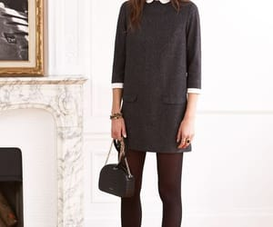 black, outfit, and fashion style image