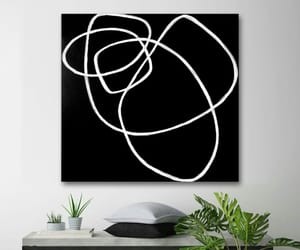 Abstract Painting, art, and gallery wall image