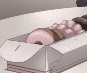 aesthetic, anime, and donuts image