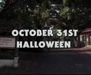article, horror movie, and october image