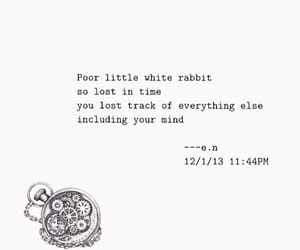 alice in wonderland, poem, and quotes image