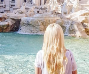 bella, blonde, and italy image