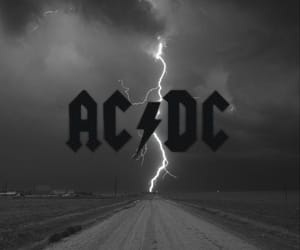 ACDC and lightning image