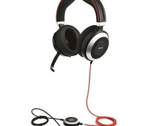 headset, wired, and corded headset image