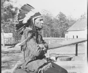 aboriginal, feathers, and headdress image
