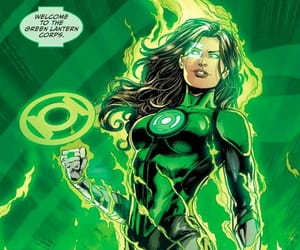 green lantern corps, green lantern, and dc comics image