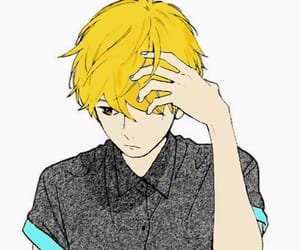 anime, mamura, and boy image