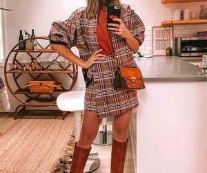 boots, fashion, and mini skirt image