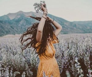 articles, girl, and nature image