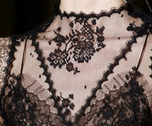 haute couture, lace, and womenswear image