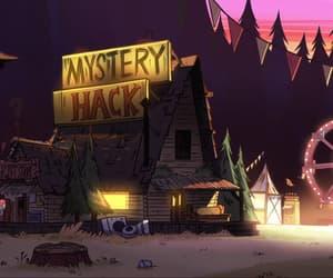 animation, mystery shack, and cartoon image