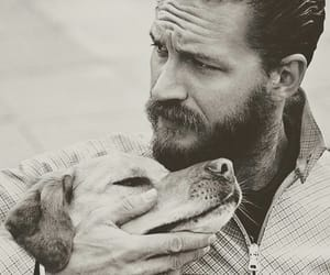 tom hardy, dog, and man image