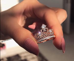 ring, crown, and nails image
