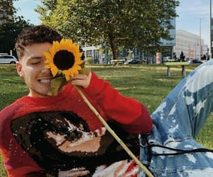 bazzi, cosmic, and sunflower image