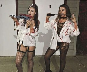 costume, fishnet, and girl image