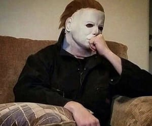 Halloween, michael myers, and reaction image