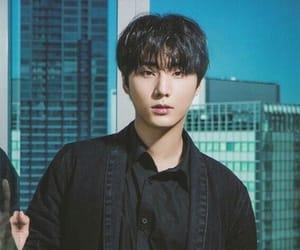 black hair, brian, and younghyun image