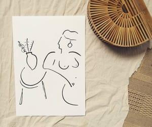 art, bag, and basket image