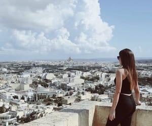 citadel, white houses, and girl image