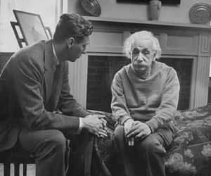 einstein, Albert Einstein, and black and white image