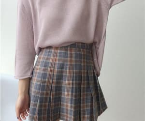 aesthetic, school, and skirt image