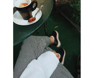 autumn, coffe, and outfit image