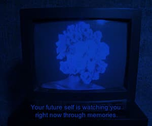 quotes, blue, and memories image