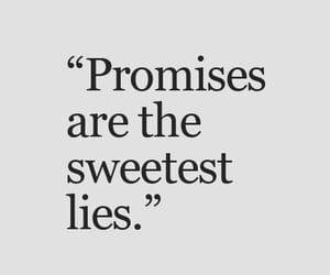 quotes, lies, and promise image