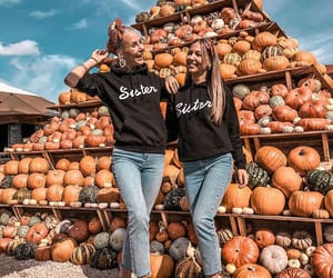 autumn, beauty, and besties image