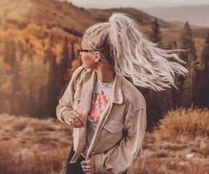 beauty, freedom, and girl image