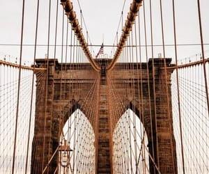 bridge, new york, and aesthetic image