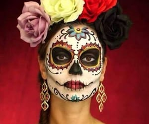 colores, day of the dead, and Halloween image