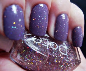 nails, purple, and dubtrackfm image