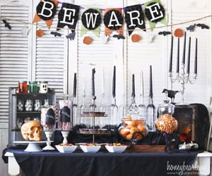 diy, inspiration, and fall party image