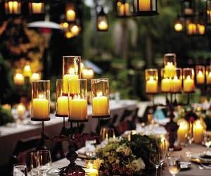 candle, wedding, and light image