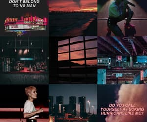 aesthetic, Collage, and halsey image