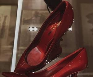 heels, Yves Saint Laurent, and fashion image
