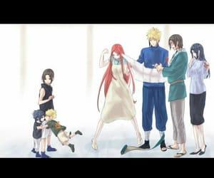 naruto, sasuke uchiha, and minato image