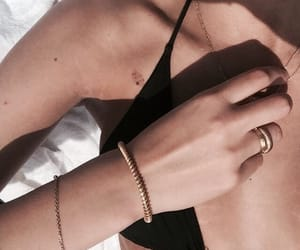 accessories, people, and rose gold image
