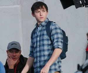 actors, peter parker, and spider-man: far from home image