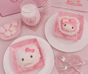 pink, hello kitty, and aesthetic image