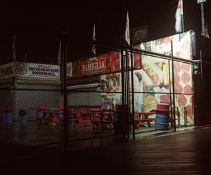 boardwalk, carnival, and empty image