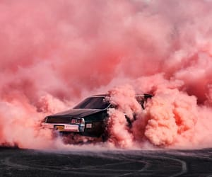 2012, baby pink, and burnouts image