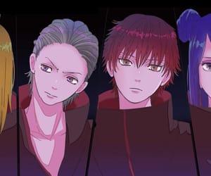 akatsuki, naruto, and hidan image