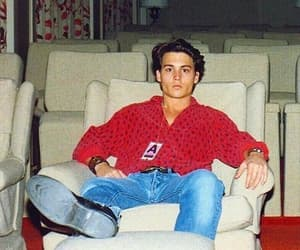90s, boy, and johnny depp image