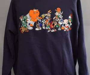 etsy, size xl extra large, and throwback sweatshirt image