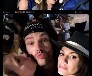 jared padalecki and genevieve padalecki image