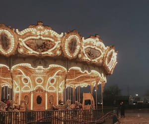aesthetic, carousel, and cirque image